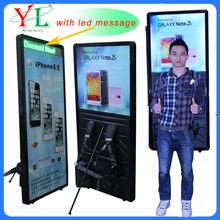 2014 new media method for advertising LED billboards led backpack billboard&led human walking billboard