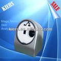2014 kes-1200 caliente facial profesional analizador de piel espejo mágico/magia analizador de la cara