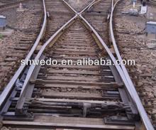 de alta velocidad ferroviaria del ferrocarril de fundición sin desvíos de hormigón sleeper y seelper de madera