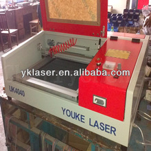 MINI CNC cutter 3040 4040 5030 6040 bamboo wood glass crystal acrylic art / crafts Desktop Mini laser cutting machine for sale