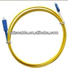 SC/UPC-LC/UPC SM 9/125 simplex fiber patchcord jumper for communication