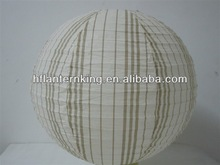 Fashion round paper lantern for holidays decoration