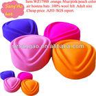 Wholesale/AZO girls felt school uniform caps wool Popular fedora female lana cap 100%wool felt wear in airline /railways/hotel