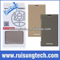 100% Original Lenovo K900 Leather Case In Stock Lenovo K900 Case Flip Cover Protective Case
