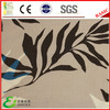 100 Polyester Print falling Leaves Fabric