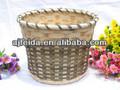 handmade artesanato barato tecelagem cesta de bambu