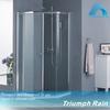 pivot door acrylic shower enclosure