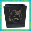 gift packaging bag with gold stamping