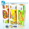 Custom design plastic film printer for chips packaging