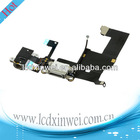charging dock connector flex cable for iphone 5 and 100% new bran-new