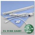 De alto brillo de ahorrar energía pc/cubierta de plástico de cocina estante del gabinete luces