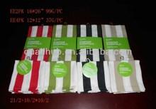 cotton yarn dyed tea towel