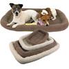 rectangular pets pad dog bed