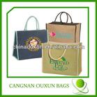 promotion jute bags