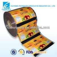 Custom design plastic film sealants for taffy