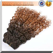 cheap aaaaa brazilian human hair two tone ombre chocolate hair beauty