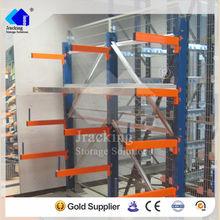 Bulk storage rack shelving,Angle iron customized warehouse storage cantilever racking