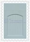 iron wood grain PVC faced MDF acrylic kitchen cabinet door