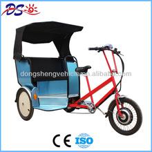 pedicab rickshaw moped three wheel
