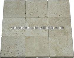 Marble travertine pavers