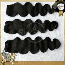 Can dye and iron 6a grade natural black wholesale virgin malaysian hair