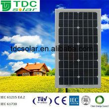 High efficiency small solar panel 25w pv module,pv solar panel