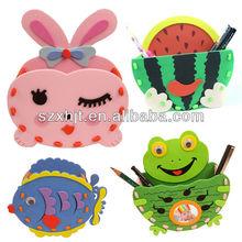Lovly EVA foam pen with different animals
