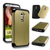 Shockproof Heavy Duty case cover for LG G2, 2014 New&Hot Gold TPU+PC shockproof slim armor case cover for LG Optimus G2