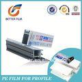 Film protecteur de pe, confidentialité film de fenêtre, anti rayures, easy peel