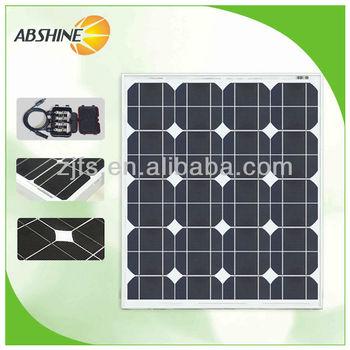 Best price per watt solar panels 45W monosilicon solar panels for sale