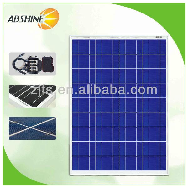 90W poly Best price per watt solar panels