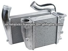 Universal Full Aluminium bar&plate front mount intercooler