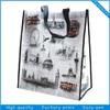 Lovely Cartoon Market Laminated Bag