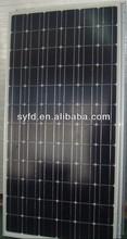 170W~200W Best Price Mono Solar Panel Pv crystalline silicon solar panel