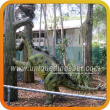 Wuerhosaurus And Snake For Exhibit Soft Rubber Dinosaur