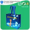 Portable reusable plastic non woven shopping bag