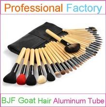 professional makeup brush manufaturer 32 piece make up brush set high grade goat hair handmade craft
