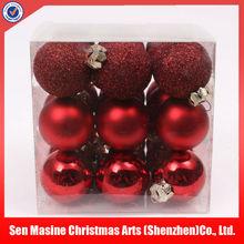 HOT SALES New model popular plastic christmas tree ball