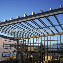 Large span light steel frame house