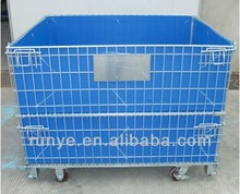 Hot Steel Wire Mesh Pallet With 50*100mm Pitch