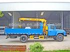 Dongfeng 4x2 Cargo Mounted Crane Truck