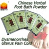 New Foot bath powder for Dysmenorrhea Uterus pain release