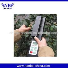Portable leaf area meter for lab