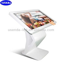 32 42 46 55 inch metal case floor stand all in one pc with RJ45/wifi