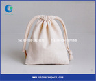 indian cotton pouch bag drawstring