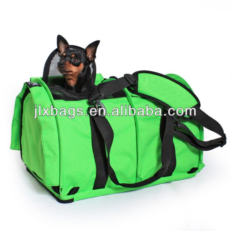 Alibaba China manufacturer wholesale cute dog carrier bag & fabric dog bag