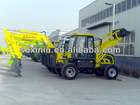 chinese cheapnew small mini cheapest with front loader rear backhoe price for sale in russia