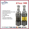 2014 Linktrend selling Innokin iclear 30B electronic cigarette ce4 dual coil clearomizer
