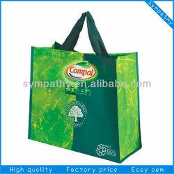 2014 recycled non woven shopping bag/pp lamination bag