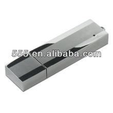 Metal Silver Color Secure USB Flash